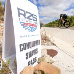 Race report Race2Stanford: Claire Winterton